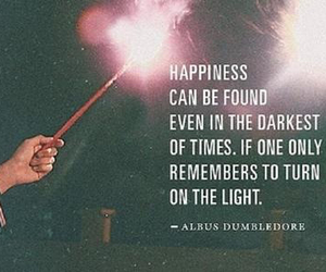 harry potter, quotes, and happiness image