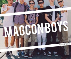 magcon boys and nash grier image