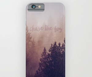 fog, landscape, and iphonecase image