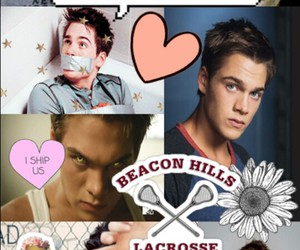 dylan, lacrosse, and teen wolf image