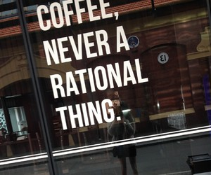 coffee, quotes, and tumblr image