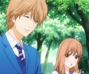 anime, romance, and my love story image