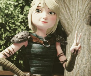 dreamworks and astrid hofferson image