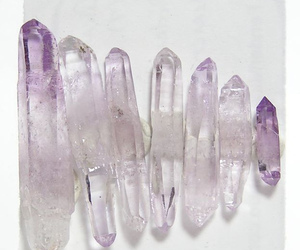crystal, purple, and grunge image