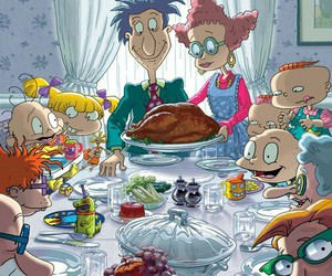 rugrats and thanksgiving image