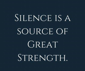 quotes and silence image