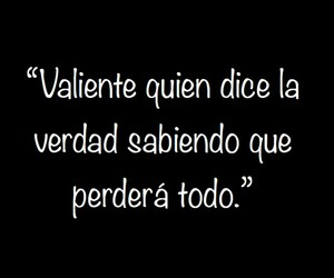 amor, frases, and valiente image