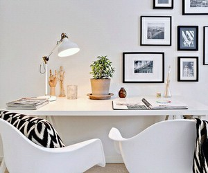 beautiful, desk, and pictures image