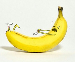 banana, lol, and socks image