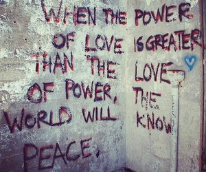 peace, quote, and power image