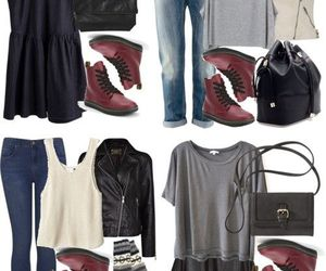 doc martens, fashion, and Polyvore image