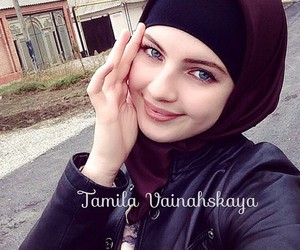 hijab, noxchi, and tamila image