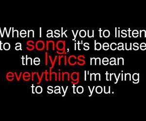 song, Lyrics, and quotes image