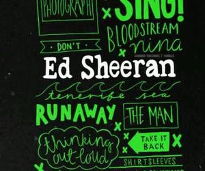 ed sheeran, x, and sing image