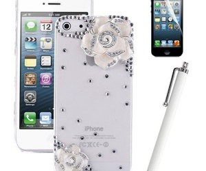 women fashion and crystal iphone 5 case image