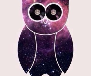 owl, space, and swag image