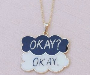 okay, necklace, and tfios image