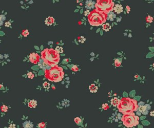 background, rose bouquet pattern, and bright image