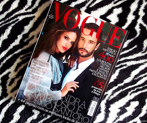 magazine, fashion, and vogue image