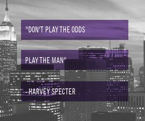 quotes, harvey specter, and the suits image