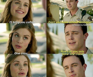 parrish, teen wolf, and lydia image