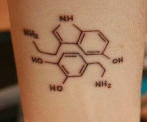 chemistry and tattoo image