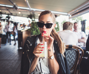 drink, fashion, and girl image
