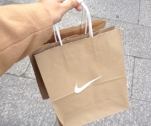 nike, brown, and tumblr image