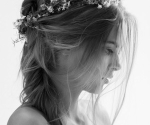 girl, hairstyle, and pretty image