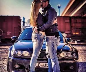 bmw, car, and kiss image