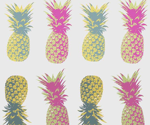 pineapple, wallpaper, and green image