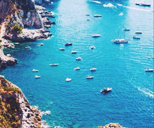 blue, boat, and travel image