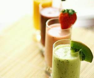 fruit, smoothie, and drink image