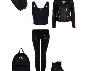 black, blog, and jeans image