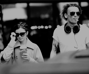 Jamie Campbell Bower and lily collins image