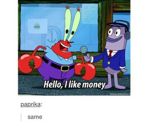 money, funny, and lol image