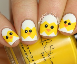 easter, nail art, and nails image
