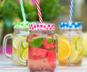 drink, fit, and healthy image