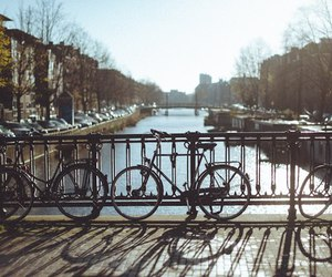 amsterdam and bicycle image
