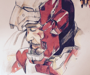 disegni, ironman, and stark image