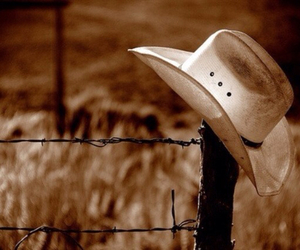 country and cowboy hat image