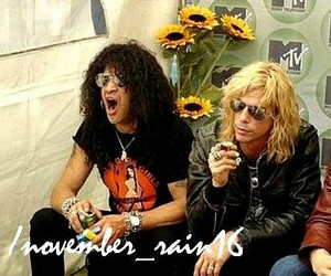 duff mckagan, Guns N Roses, and slash image
