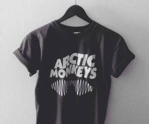 arctic monkeys, music, and black image
