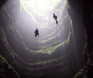 nature, cave, and travel image