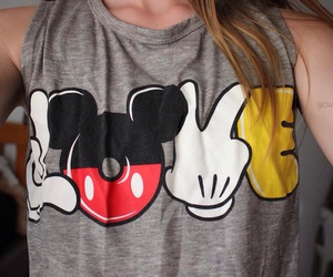 clothing, cool, and mickey mouse image