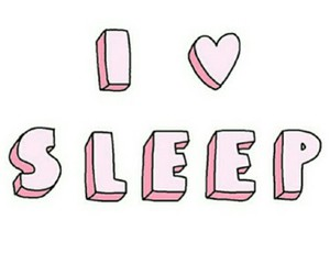 i, sleep, and ❤ image