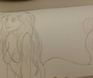 animation, ariel, and art image