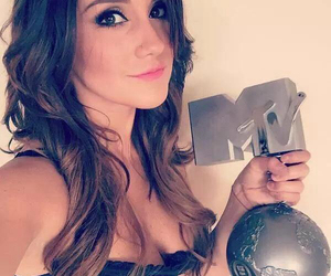 dulce maria, hair, and makeup image