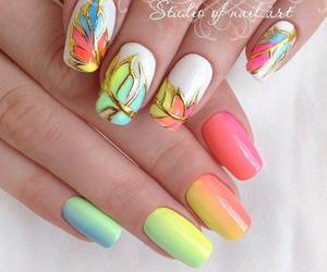 fashion, nails, and summer image