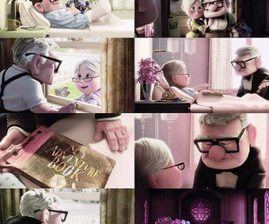 true love, up, and carl and ellie image